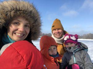 Ein Wintertag am Karpfenteich