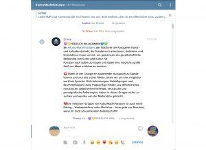 Öffentliche Chat-Gruppe